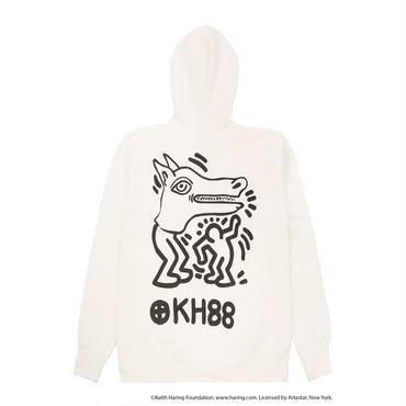 JOYRICH x Keith Haring Hoodie /  WHITE