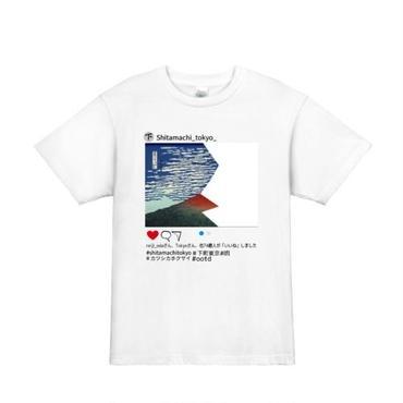 ' Hidden Fragment of Mt Fuji' T-shirts White