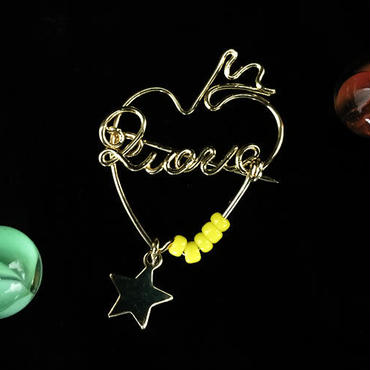 """ブローチ DUECCEL """"LOVE"""" P030"""