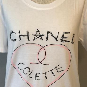 COLETTE  半袖Tシャツ(白)