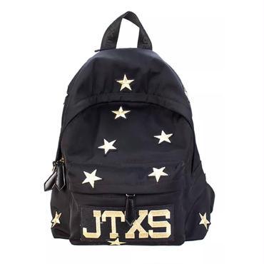 星柄刺繍バッグパック
