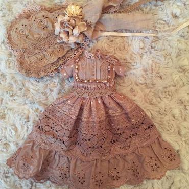 手染めドレス