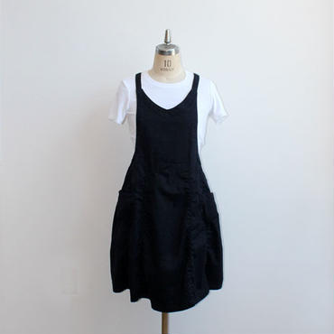 18 EURO KITCHEN APRON_BLACK