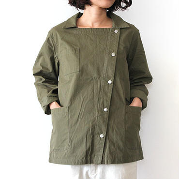 FRENCH WORK JACKET_OLIVE