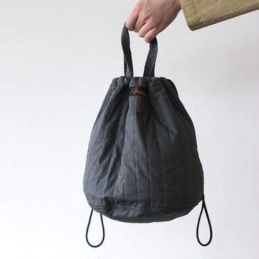 QUILTHING PATIENTS BAG _CHARCOAL GRAY