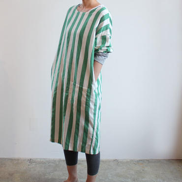 COVERING WEAR_GREEN STRIPE