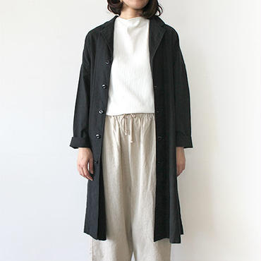 【直営店限定】WIDE WORK COAT_BLACK