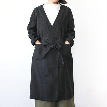 【直営店限定】GOWN COAT_BLACK