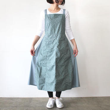 EURO KITCHEN APRON SKIRT_BLUE