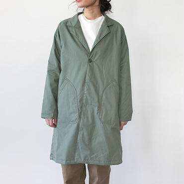 WINTER ATELIER WORK COAT_OLIVE