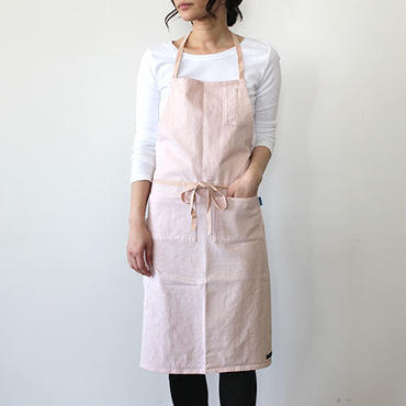 HEAVY JERSEY 4POCKET APRON_PINK