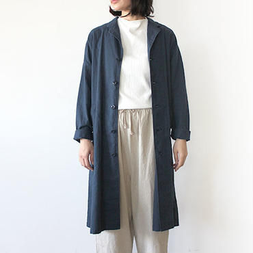 【直営店限定】WIDE WORK COAT_NAVY