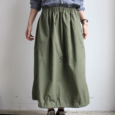 LAUNDRY BAG SKIRT_KHAKI