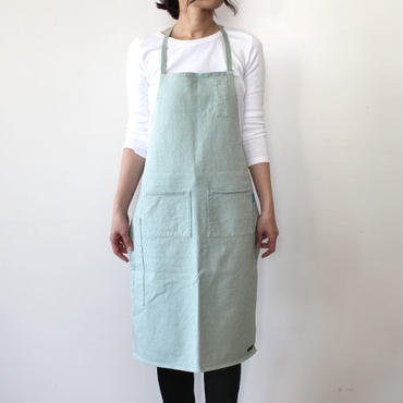 HEAVY JERSEY 4POCKET APRON_MINT