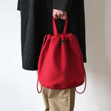 【限定】PATIENTS BAG  DOBBY _RED