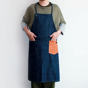 09 DENIM CRAFT APRON_INDIGO