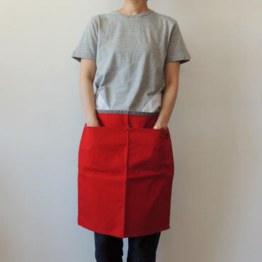 17 LUMBER WAIST APRON LONG_RED