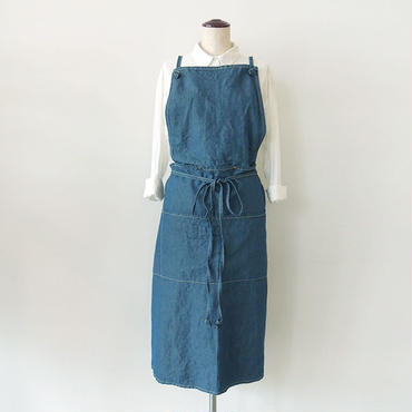 19 2WAY APRON_BLUE CHAMBRAY