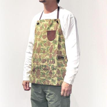 【直営店限定】LUMBER BIB APRON_CAMO