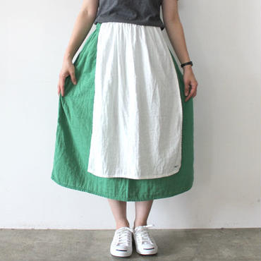 【直営店限定】HARVEST SKIRT_SMOKY GREEN