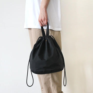 【直営店限定】 PATIENTS BAG  NYLON_BLACK