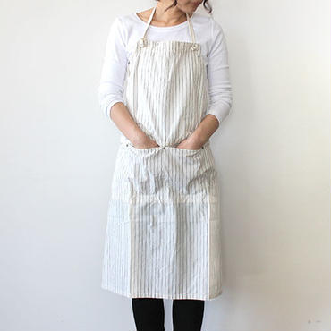 14 HUNTER FULL APRON LONG WHITE