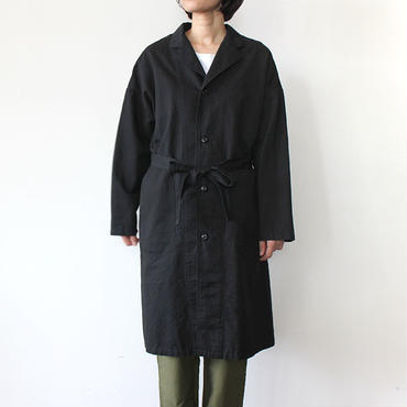 【直営店限定】WIDE WORK COAT_BLACK