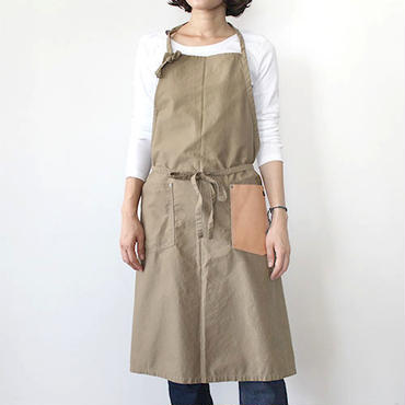 CRAFT APRON_BEIGE