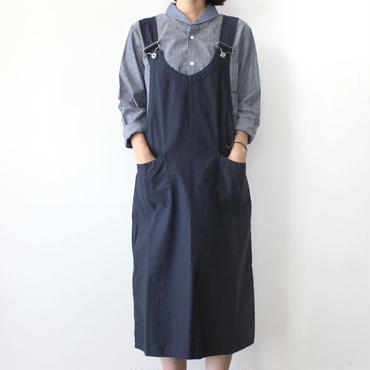 【直営店限定】EURO SHOULDER OVERALL_NAVY