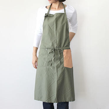 CRAFT APRON_OLIVE