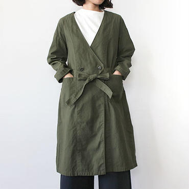 GOWN COAT_OLIVE