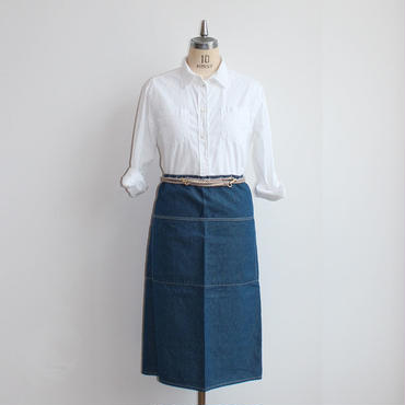 20 ROPE APRON_BLUE CHAMBRAY