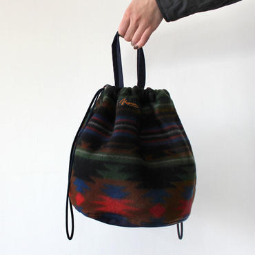 【直営店限定】PATIENTS BAG NATIVE _BLACK