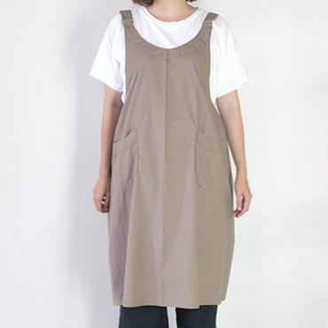 22 EURO SHOULDER APRON_GRAY