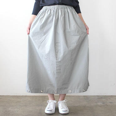 US MAIL BAG SKIRT_GRAY