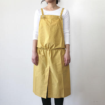 GATHER WRAP APRON_YELLOW