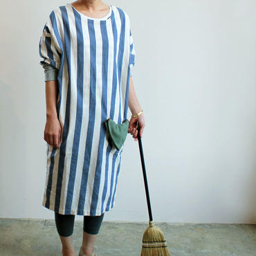 COVERING WEAR_NAVY STRIPE