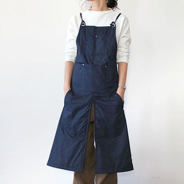 WINTER SPLIT APRON_NAVY