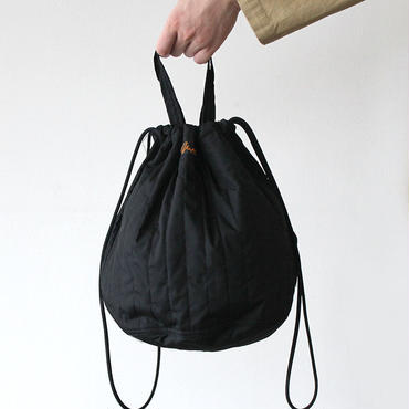 QUILTHING PATIENTS BAG _BLACK