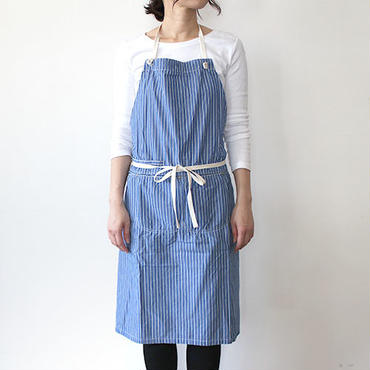 14 HUNTER FULL APRON LONG BLUE