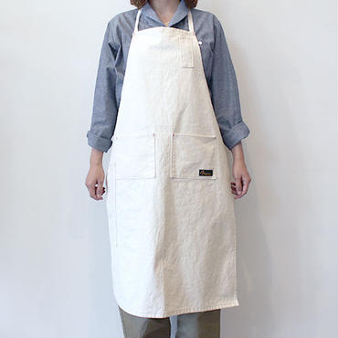 4POCKET CANVAS FULL APRON_KINARI