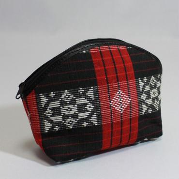 B985 イトゥネグ族の布のポーチ 13x18x6cm