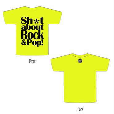 銀河夜光TOUR Tシャツ(白、黒、黄色※NEW)