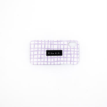 purple check case