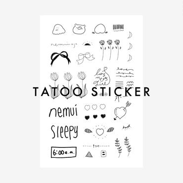 tatoo sticker 01