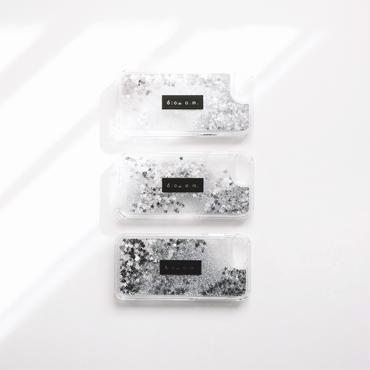 glitter monotone logo case