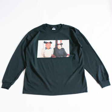 EVER OURS L/S TEE  (BLACK)