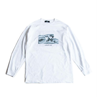 YOUTH AGE L/S TEE  (WHITE)