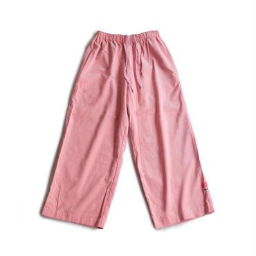 ROSE CORDUROY SKATE PANTS  (SALMON PINK)