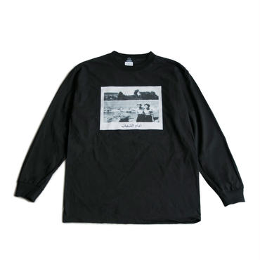 YOUTH AGE L/S TEE  (BLACK)